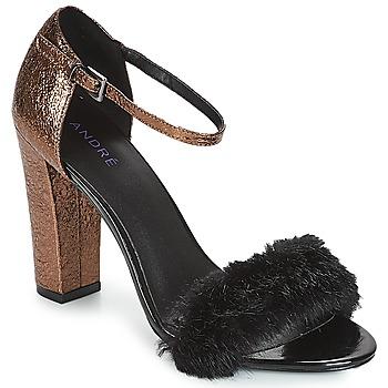 Topánky Ženy Sandále André WANDA Čierna