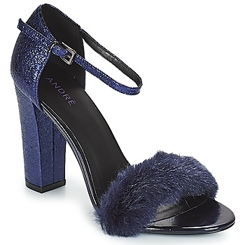 Topánky Ženy Sandále André WANDA Námornícka modrá