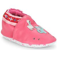 Topánky Dievčatá Detské papuče André PERUVIENNE Ružová