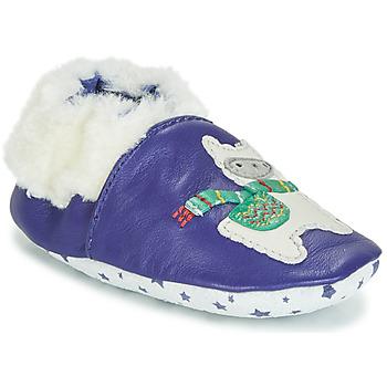 Topánky Chlapci Detské papuče André LAMA Námornícka modrá