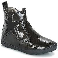 Topánky Dievčatá Polokozačky André FURY Čierna