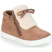 Topánky Dievčatá Polokozačky André MOUFLON Béžová
