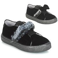 Topánky Dievčatá Slip-on André MAMMOUTH Čierna