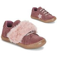 Topánky Dievčatá Derbie André RUBAN Ružová