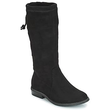 Topánky Dievčatá Čižmy do mesta André VALENTINE Čierna