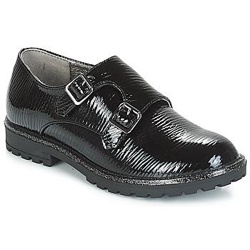 Topánky Dievčatá Derbie André MONK Čierna