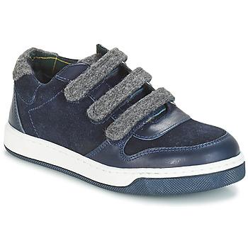 Topánky Chlapci Derbie André CARREAU Námornícka modrá