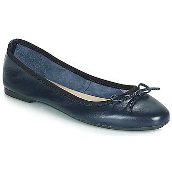 Topánky Ženy Balerínky a babies André PIETRA Námornícka modrá