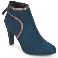 Topánky Ženy Čižmičky André AUREL Modrá