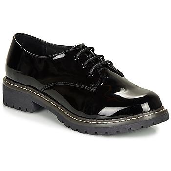 Topánky Ženy Derbie André NEBULEUSE Čierna