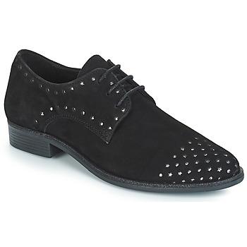 Topánky Ženy Derbie André TWIN Čierna