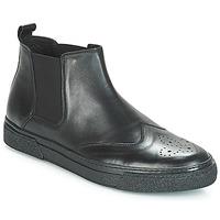 Topánky Muži Polokozačky André OASIS Čierna