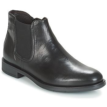 Topánky Muži Polokozačky André VALOREILLE Čierna