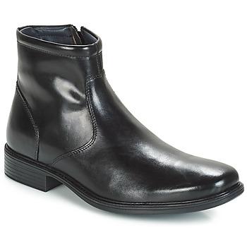 Topánky Muži Polokozačky André BOULE Čierna