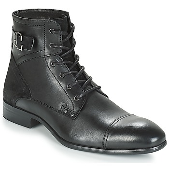 Topánky Muži Polokozačky André PHILIPPE Čierna