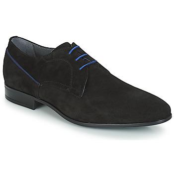 Topánky Muži Derbie André BARI Čierna