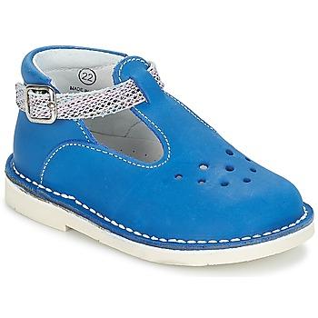 Topánky Dievčatá Balerínky a babies André LE SABLIER Modrá