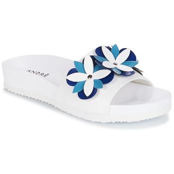 Topánky Ženy Šľapky André GARDENIA Modrá