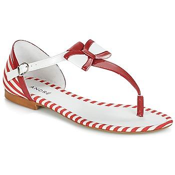 Topánky Ženy Sandále André DORINE Červená