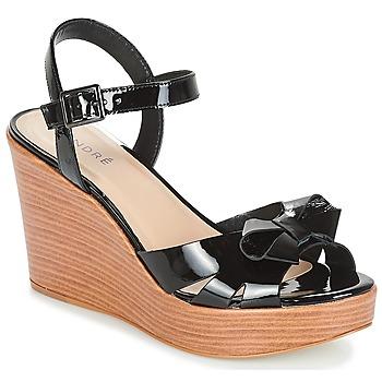 Topánky Ženy Sandále André DOME Čierna