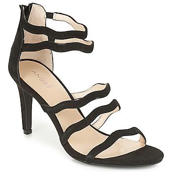 Topánky Ženy Sandále André POULOUPIDOU Čierna