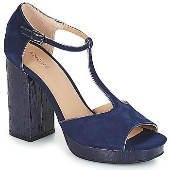 Topánky Ženy Sandále André TORRIDE Námornícka modrá