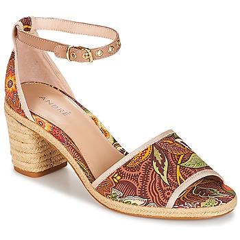 Topánky Ženy Sandále André JAKARTA Viacfarebná