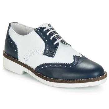 Topánky Ženy Derbie André CASPER Námornícka modrá