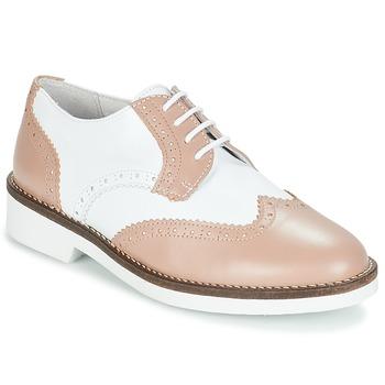 Topánky Ženy Derbie André CASPER Béžová