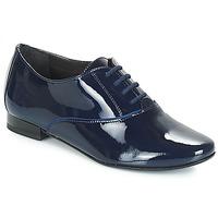 Topánky Ženy Derbie André POMPELLE 2 Modrá