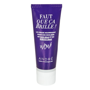 Doplnky Vosk na topánky André TUBE CUIR GRAS Neutral