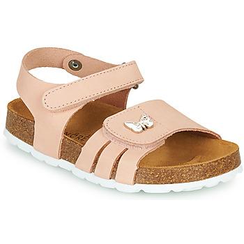 Topánky Dievčatá Sandále André PAPILLON Ružová