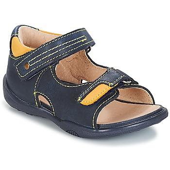 Topánky Chlapci Sandále André VOYAGE Námornícka modrá