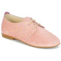 Topánky Dievčatá Derbie André CELESTINE Ružová