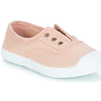 Topánky Dievčatá Slip-on André LES VACANCES Ružová