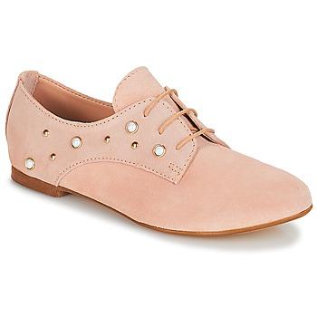 Topánky Dievčatá Derbie André PERLA Ružová