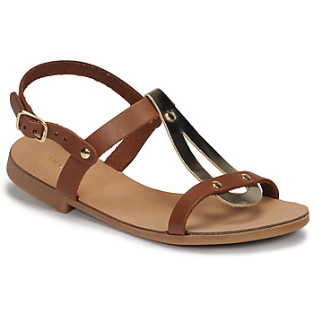 Topánky Dievčatá Sandále André TOUFOU E Ťavia hnedá