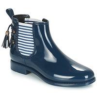 Topánky Ženy Čižmy do dažďa André BLEUENN Námornícka modrá