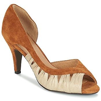 Topánky Ženy Lodičky André PUNGI Ťavia hnedá