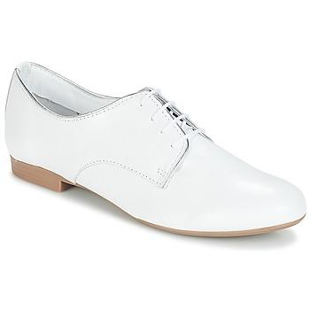 Topánky Ženy Derbie André COMPERE Biela
