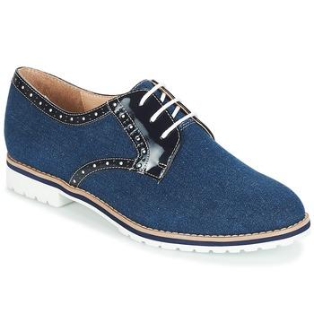 Topánky Ženy Derbie André DERIVEUR Námornícka modrá