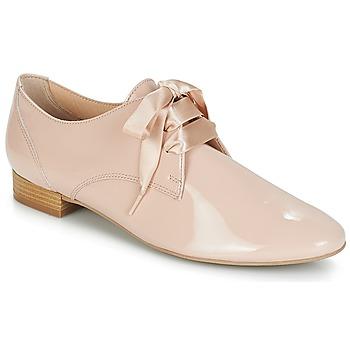 Topánky Ženy Derbie André GOURMANDISE Svetlá telová