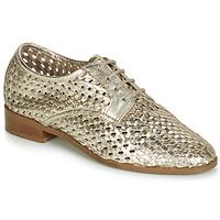 Topánky Ženy Derbie André TRANSAT Zlatá