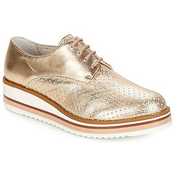 Topánky Ženy Derbie André FLORIANE Zlatá