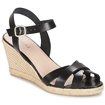 Topánky Ženy Sandále André QUIBERON Čierna