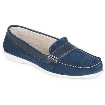 Topánky Ženy Mokasíny André FRIOULA Námornícka modrá