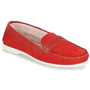 Topánky Ženy Mokasíny André FRIOULA Červená