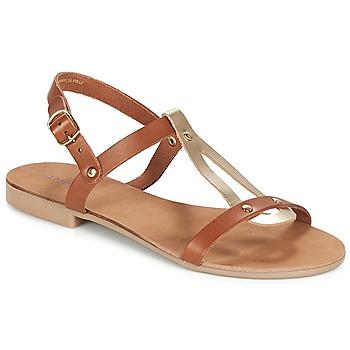 Topánky Ženy Sandále André TOUFOU Ťavia hnedá