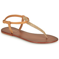 Topánky Ženy Žabky André GLITTER Ťavia hnedá