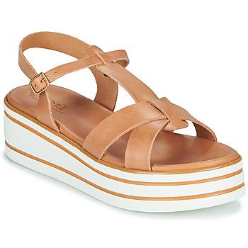 Topánky Ženy Sandále André LUANA Ťavia hnedá